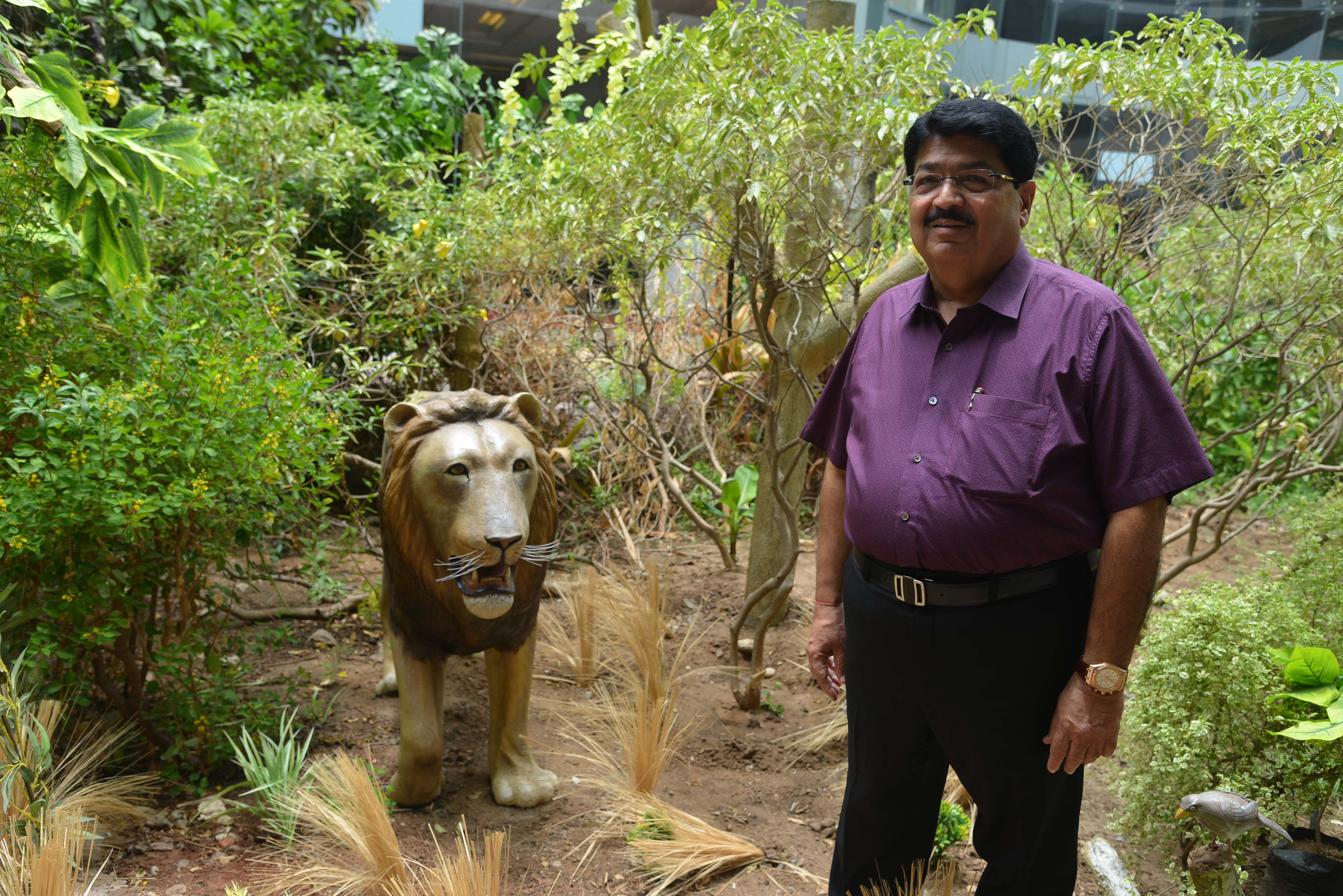 World Lion Day: Nathwani voices for National Animal Statue to Lions